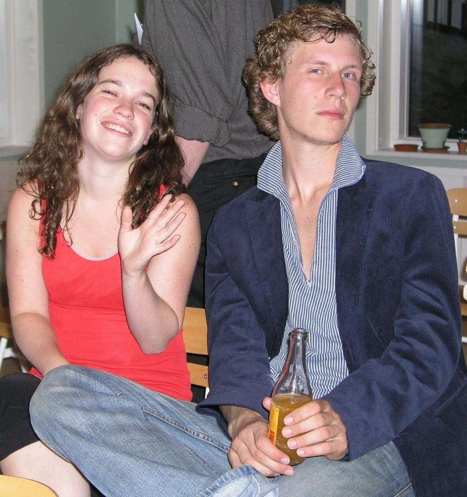 Halldis og Jens er kledde til fest!